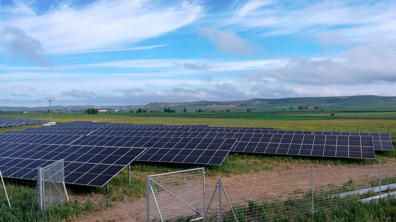 Parque fotovoltaico en Burgos
