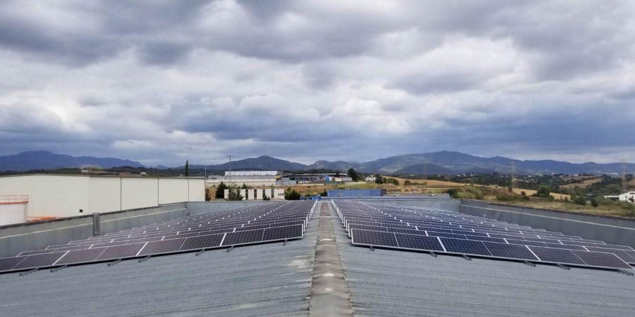 estructura solar autoconsumo barcelona