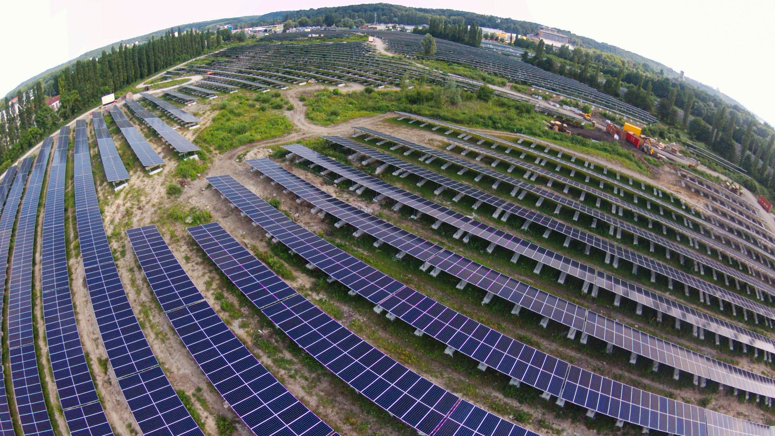 champ photovoltaïque à paris